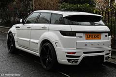 Onyx Range Rover Evoque (CA Photography2012) Tags: ca london car photography 4x4 automotive rover company exotic modified british suv tuning range onyx spotting sav belgravia evoque sd4 lf13kho