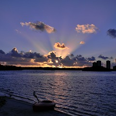 Munyon Island Morning (bob in swamp) Tags: sunrise island nikon kayak florida january kayaking coolpix palmbeachcounty munyon northpalmbeach lakeworthlagoon johndmacarthurbeachstatepark