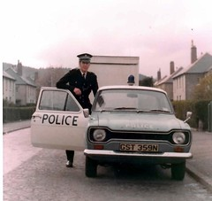 Inverness Constabulary Ford Escort  1975