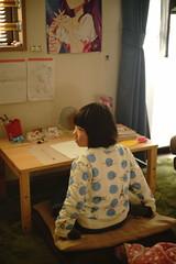 Consideration (Cozy66) Tags: portrait girl japan child sony  alpha leitz 7    summarit50mmf15 ilce7