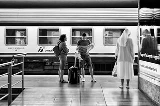 Stazione di Padova - Aspettando il treno