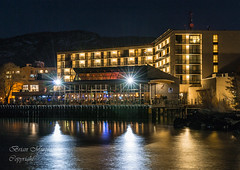 Hotel2 (brianmurphy1950 ....Thanks For Your Visit) Tags: city lake canada night nikon long exposure shot wine brian country columbia casino british penticton murphy d3100