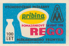 czechoslovakian matchbox label (maraid) Tags: food milk healthy czech eating label health packaging dairy matchbox czechoslovakian rego