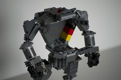 Pilot, your Titan is ready (mcwhoobles) Tags: lego titan mech hardsuit titanfall