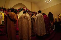 Feast of St. Spyridon Vespers, 2010