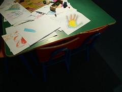 Mano y Corazon (Gabri Le Cabri) Tags: art museum children uruguay hand drawing montevideo gurvich