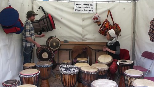 Drumming At Africa Day 2014