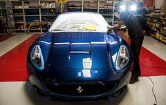 Ferrari California (Edir Manzano) Tags: california blue brasil nikon ferrari nikond50 nikkor luxury matogrosso detailing cuiabá carcare 18105mm