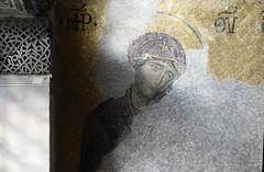 Virgin Mary, Deësis mosaic, Hagia Sophia