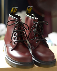 101 Cherry Red (denise bentulan) Tags: red leather cherry dr smooth 101 doctor martens