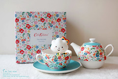 tea for one (cacala) Tags: cathkidston fluffyhouse