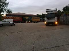 Daybreak Cammack HQ (South Strand Trucking) Tags: yard transport warehouse lorry workshop essex colchester logistics airfield earlscolne cammacks