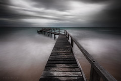 Monday Mornings (Mark McLeod 80) Tags: longexposure pier jetty australia victoria sorrento morningtonpeninsula portsea shelleybeach 2015 markmcleod canonef1635mmf28lii lee12nd
