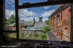 URBEX - The Ivy (karllaundon) Tags: building rot window architecture hospital outside view decay bricks watertower asylum remains lunaticasylum pauperasylum