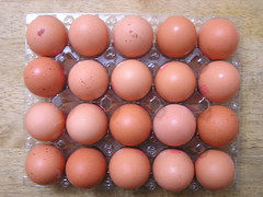 Aldi Healy's Farm 20 Large Eggs @3.50 22072015 - Tray Open - 03-07-2015 (Lord Inquisitor) Tags: brown farm eggs hen aldi eggcarton healys heneggs