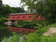 Buskirk's Covered Bridge (memorybob) Tags: county newyork coveredbridge buskirk rensselaer washingtoncounty hoosic