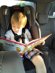 """Paul Reads in the Car • <a style=""""font-size:0.8em;"""" href=""""http://www.flickr.com/photos/109120354@N07/32298450903/"""" target=""""_blank"""">View on Flickr</a>"""