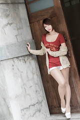 DSC_5677 (錢龍) Tags: 希維亞 小希 文創園區 外拍 beauty sexy nikon d700 girl 短髮