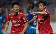 คลิปไฮไลท์ฟุตบอลไทยลีก ชลบุรี เอฟซี 0-3 เมืองทอง ยูไนเต็ด