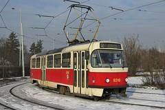 ČKD Tatra T3R.P, #8318, Nádraží Braník