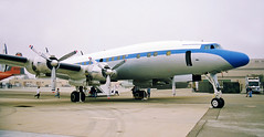 Front runner (crusader752) Tags: lockheed l1049 constellation n73544 ptmugu nwc openhouse 1996 connie transport airliner prop
