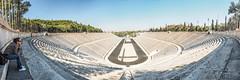 Panathenaic Stadium Panorama1 (joe shot) Tags: athen ateny olympus omd em 10 greece architecture
