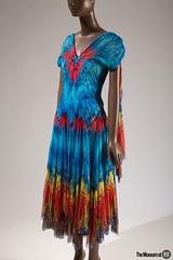 Alexander McQueen Dress (Museum at FIT) Tags: 2016151 alexandermcqueen eveningdress springsummer2003 england themuesumatfit themuseumatfit forceofnature fit newyorkcity fashion