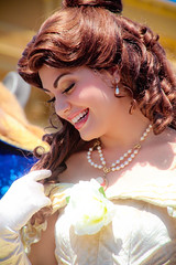Belle (abelle2) Tags: princess disney parade disneyworld belle wdw waltdisneyworld magickingdom beautyandthebeast disneyprincess disneyparade princessbelle celebrateadreamcometrueparade celebrateadreamcometrue