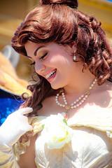 Belle (abelle2) Tags: princess disney parade disneyworld belle wdw waltdisneyworld magickingdom beautyandthebeast disneyprincess disneyparade princessbelle celebrateadreamcometrueparade celebrateadreamcometrue