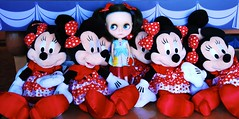 Many Minnies (tunibug) Tags: mouse disney minnie compass dt travelingblythe