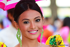 The Sunshine Of Your Smile (Jodette T. Abad) Tags: flores de mayo abad redor 2013 jodette merelle terciano