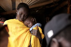 Thousands of Refugees Moved Before the Rains Hit South Sudan (UNHCR) Tags: children women southsudan relocation photooftheday sudaneserefugees