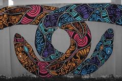 Serpenti / Snakes (eFiZ81) Tags: street art torino graffiti murales turin