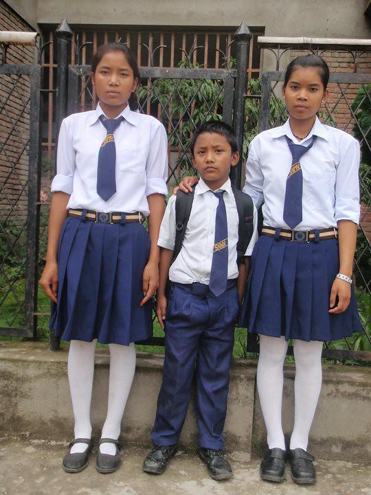 Nepali college girls uniform, karen m waldron porn
