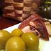 Olives, anchovies and tuna