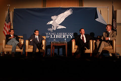 Rand Paul, Ted Cruz, Mike Lee & Jeff Frazee (Gage Skidmore) Tags: ted mike jeff arlington paul liberty for virginia george university mason young cruz national lee convention americans rand frazee 2013