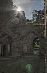 Klosterruine Eldena (Kokeldil) Tags: old canon eos ruins alt ruine kloster greifswald vorpommern mecklenburg eldena mecklenburgvorpommern klosterruine ostvorpommern 100d