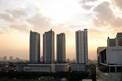 (h4mster) Tags: city buildings indonesia landscape jakarta fujifilm urbanlandscape x100s
