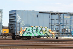 09012013 186 (CONSTRUCTIVE DESTRUCTION) Tags: train graffiti tag silk boxcar graff piece freight moniker