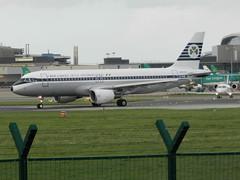 EI-DVM Airbus A320 - Aer Lingus (Retro scheme) (graham19492000) Tags: airbus aerlingus a320 dublinairport retroscheme eidvm