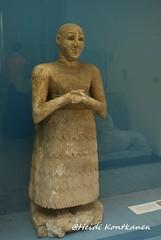 Statue of Lugal-Dalu (konde) Tags: statue iraq istanbul limestone mesopotamia sumer adab eshar ancientorientmuseum lugaldalu