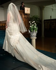 Bridal fashions in NZ (Ian@NZFlickr) Tags: new wedding fashion women young marriage zealand dresses bridal 1870 onwards