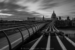 St. Pauls Rush. (Ollie Smalley Photography (OSP)) Tags: city longexposure bridge light blackandwhite white motion black blur brick london church water rock metal thames architecture clouds composition contrast canon river dark concrete religious eos movement cityscape crossing riverside cathedral bright edited religion landmark structure millenniumbridge motionblur filter adobe le lee nd getty 5d stpaulscathedral iconic riverthames gettyimages bankside cityoflondon slowexposure osp capitalcity leadingline canon24105mm religiousbuilding 5d2 10stopfilter 5dii canon5dmarkii leebigstopper lightroom5 clouddrag olliesmalleyphotography