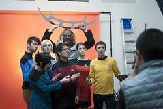 XPRIZE photo shoot (arterial spray) Tags: orange trek photography star san francisco cosplay tags klingon vulcan officer xprize trekkies quallcomm