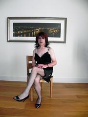 melissa in satin chemise (1) (Melissa TV) Tags: stockings cd femme skirt tgirl transgender tranny transvestite trans crossdresser feminization makup maletofemale tgurl sexytv femmegirl