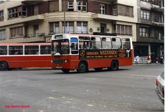 BILBAO (CALLE AUTONOMA) - AO 1987 (luisignacio.alonso) Tags: bilbao autobuses aos80