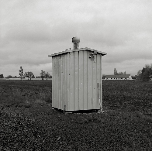Shed with Spinning Vent, Oregon