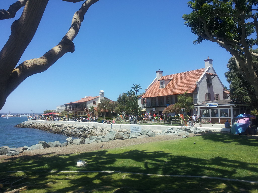 Sunny Day at Seaport Village by jeffrey tucker, on Flickr