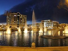 City Center Fountains (1) (THE Halloween Queen) Tags: city fountain fountains beginnerdigitalphotographychallengewinner thechallengefactory yourockwinner yourockunanimous pregamesweep