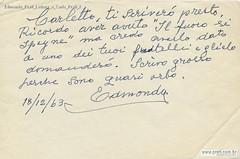 Edmondo Prati Lettera a Carlo Prati 2